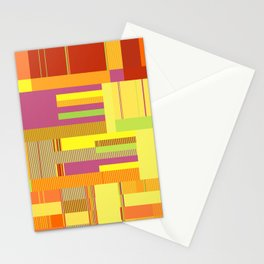 Scandinavian Moon (Fruit Colours) Stationery Cards