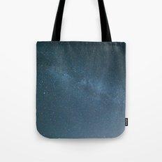 Milky Way Blue Tote Bag