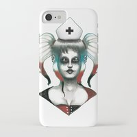 harley iPhone & iPod Cases featuring Harley ! by Alejandro Dayer
