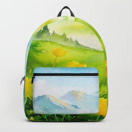 Spring scenery #5 Backpack