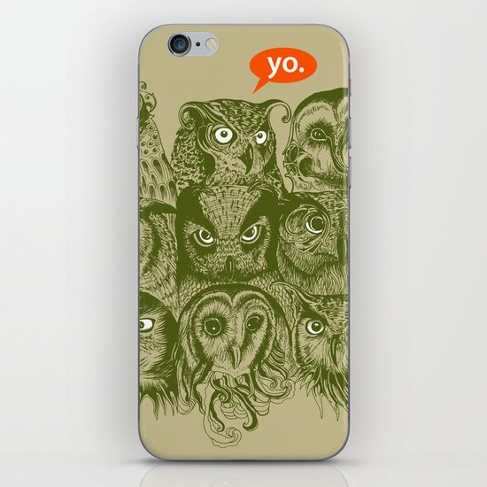Wisdom to the Nines iPhone & iPod Skin