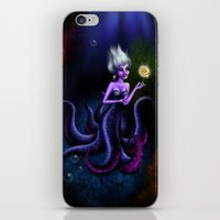 ursula iPhone & iPod Skins featuring Ursula by Callie Clara