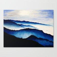 Mountain Landscape. Canvas Print