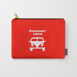Summer 1969 - red Carry-All Pouch