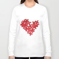 medicine Long Sleeve T-shirts featuring medicine heart by bugo