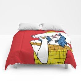 Breakfast on Tiffany Comforters