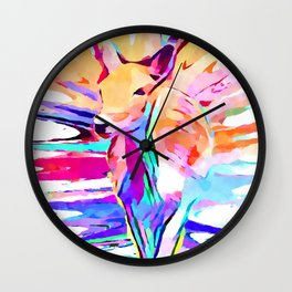 Doe A Deer Wall Clock