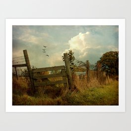 The Corner Gate Art Print