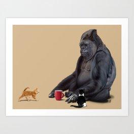 I Should, Koko (Colour) Art Print