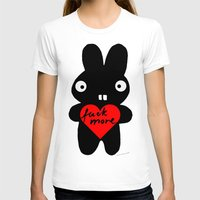 bunny T-shirts featuring Bunny by Sylwia Borkowska