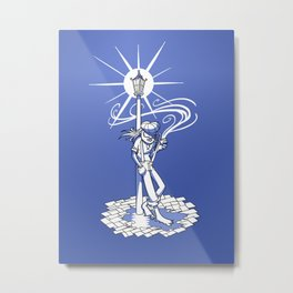 Streetlight People Metal Print