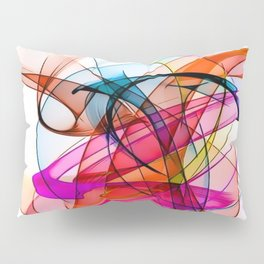 Summer Color Pattern by Nico Bielow Pillow Sham