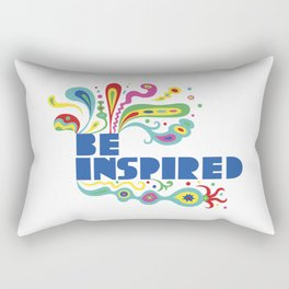 Be Inspired Rectangular Pillow