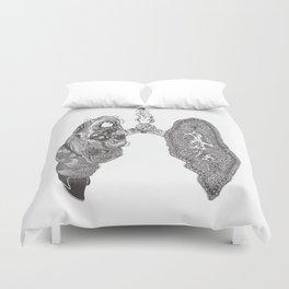 Lungs Duvet Cover