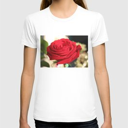 Red Rose Focus T-shirt