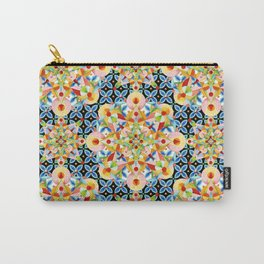 Elizabethan Pastel Mandala Carry-All Pouch