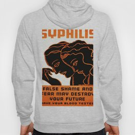 Vintage poster - Syphilis Hoody