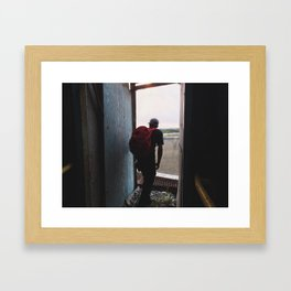 What Curiosity Brings Framed Art Print