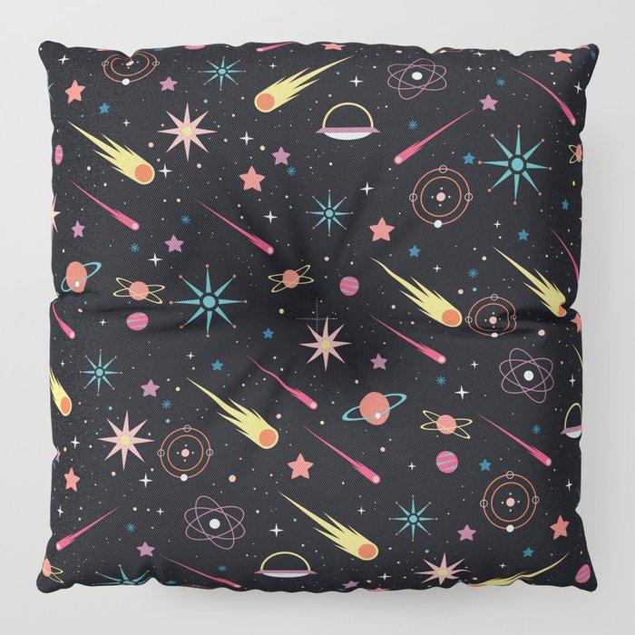 Fly Through Space Floor Pillow