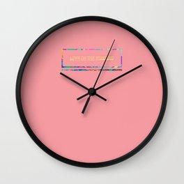 Acid Box - John Mayer's Love On The Weekend Wall Clock