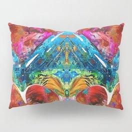 Colorful Heart Art - Everlasting - By Sharon Cummings Pillow Sham