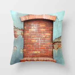 window Throw Pillow