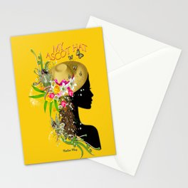 My Trendy Ascot Hat Stationery Cards
