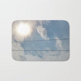 clouds and wire, asrc, no.1 Bath Mat