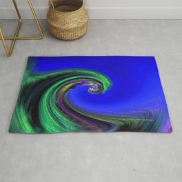 """Night Wave"" Photograph Rug"