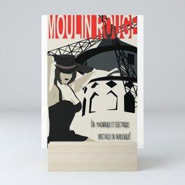 Spectacle Du Burlesque! Mini Art Print