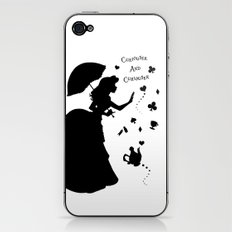 Curiouser and Curiouser iPhone & iPod Skin