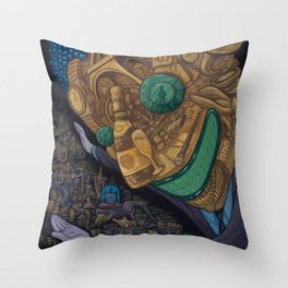 The Hard Sell Throw Pillow