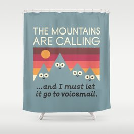 The Hills Have Eyes Shower Curtain
