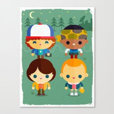 Stranger and things Canvas Print
