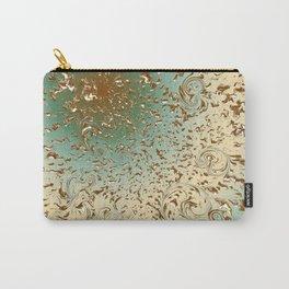Golden RainYellow-Green Carry-All Pouch