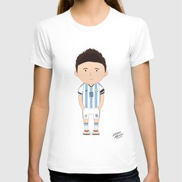Lionel Messi - Argentina - World Cup 2014 T-shirt