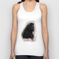thorin Tank Tops featuring Mixed Media - Thorin by LindaMarieAnson