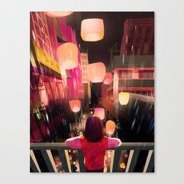 Warping Reality Canvas Print