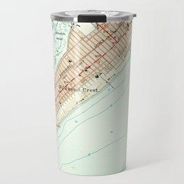 Vintage Map of Wildwood NJ (1955) Travel Mug