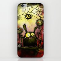 creepy iPhone & iPod Skins featuring creepy by Katja Main