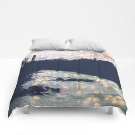 Make a wish -Yoho National park Comforters
