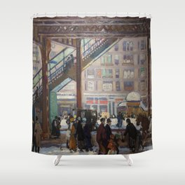 Elevated Columbus Avenue - Gifford Beal Shower Curtain