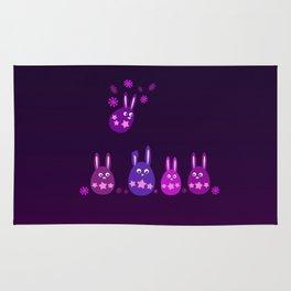 Easter Egg Bunnies - Make Room For Me! Rug