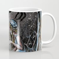 nightmare Mugs featuring Nightmare by Ju.jo.weh