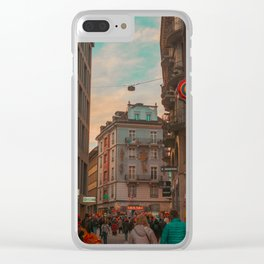 Lucerne Clear iPhone Case