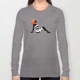 Leeloo Dallas Mudflap Long Sleeve T-shirt