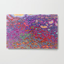Synapse in Color Metal Print