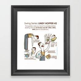 SWING SERIES: LINDY HOPPER #2 Framed Art Print