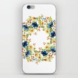 Fall into Blue iPhone Skin