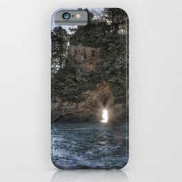 Crab Rock, Tillamook Bay iPhone Case